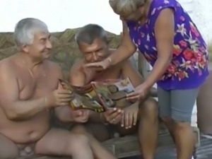 Just because we are old doesn't mean we can't have some naughty fun on camera