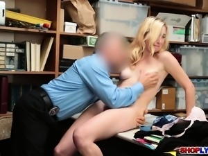Shoplifting babe Zoe Parker caught and fucked