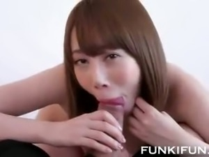 This hot amateur Asian slut can really suck dick and she is so nasty