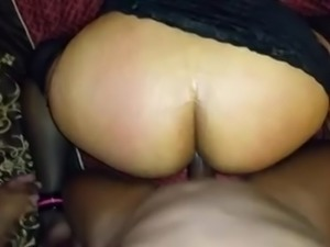 BBC in Spanish Milf Ass