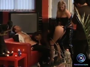 Ginger Jones and Maria Belucci hot threesome