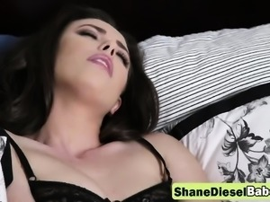 Alluring Casey Calvert is Shane Diesel's sex toy for the day
