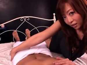 Busty asian babe loves hardcore sex with fat cock