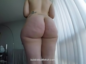 White bubble butt