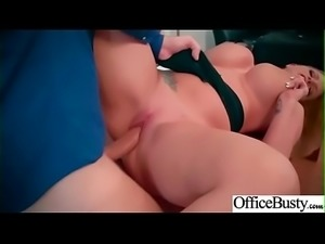 Hard Sex With Naughty Sexy Big Round Boobs Office Girl (Brooklyn Chase) movie-07