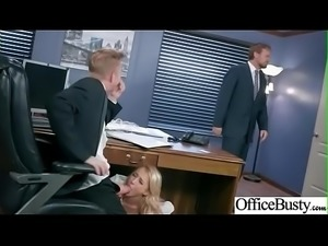 Hard Sex With Naughty Sexy Big Round Boobs Office Girl (Alix Lynx) movie-02