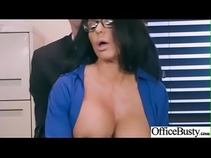 (Simone Garza) Big Tits Horny Office Girl Get Nailed Hardcore vid-27